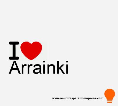 Arrainki