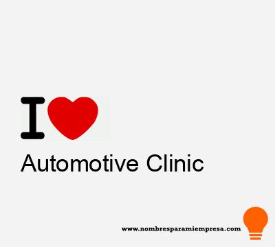 Automotive Clinic