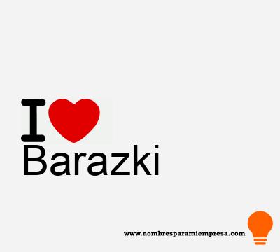 Barazki