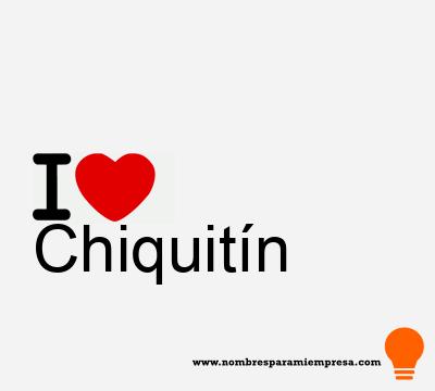 Chiquitín