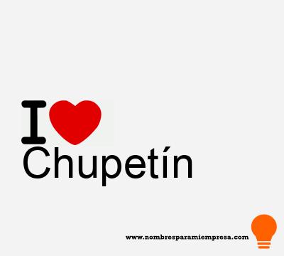 Chupetín