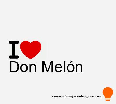 Don Melón