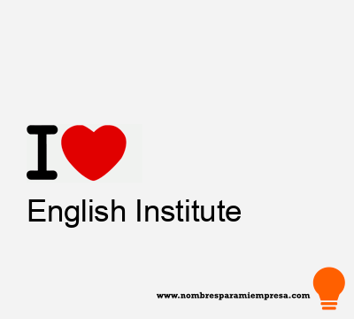 English Institute