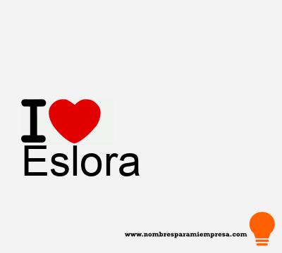 Eslora