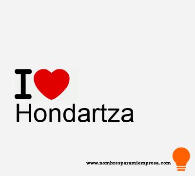 Hondartza