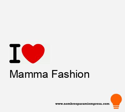 Mamma Fashion