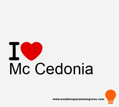 Mc Cedonia