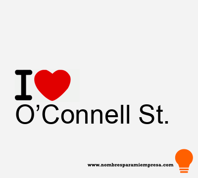 O'Connell St.