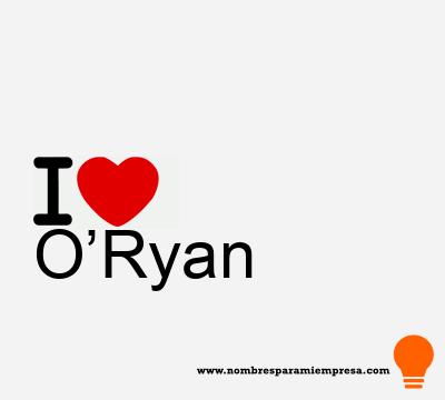 O'Ryan