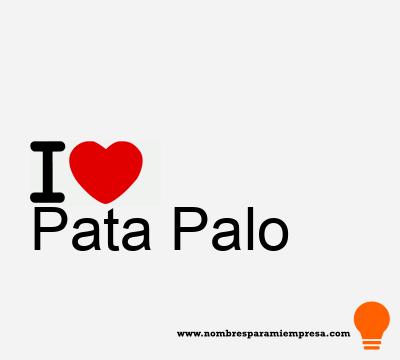 Pata Palo