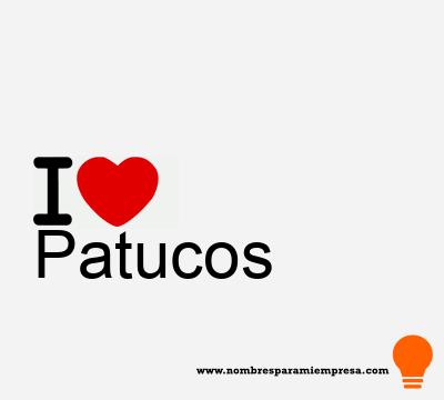 Patucos