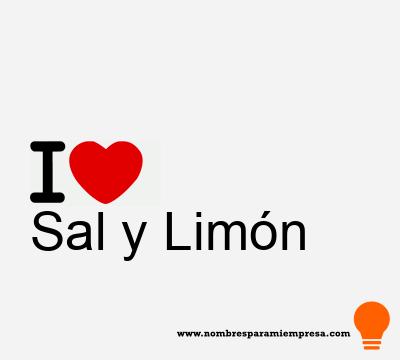 Sal y Limón