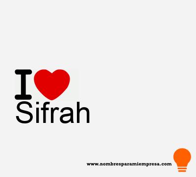 Sifrah