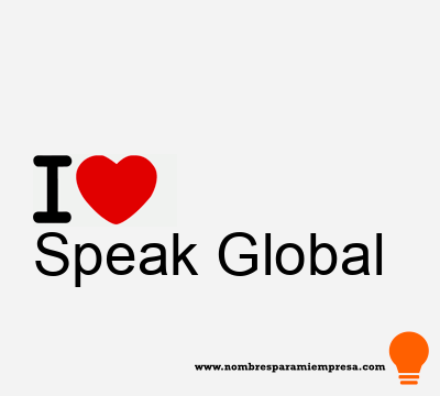 Speak Global