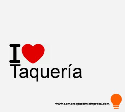 Taquería