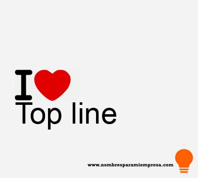 Top line