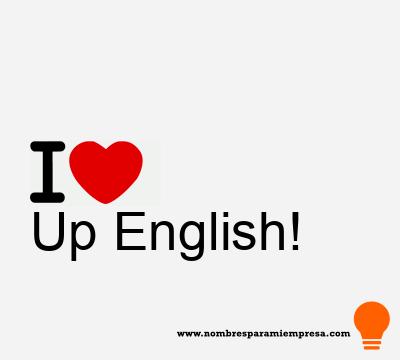 Up English!