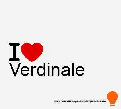 Verdinale